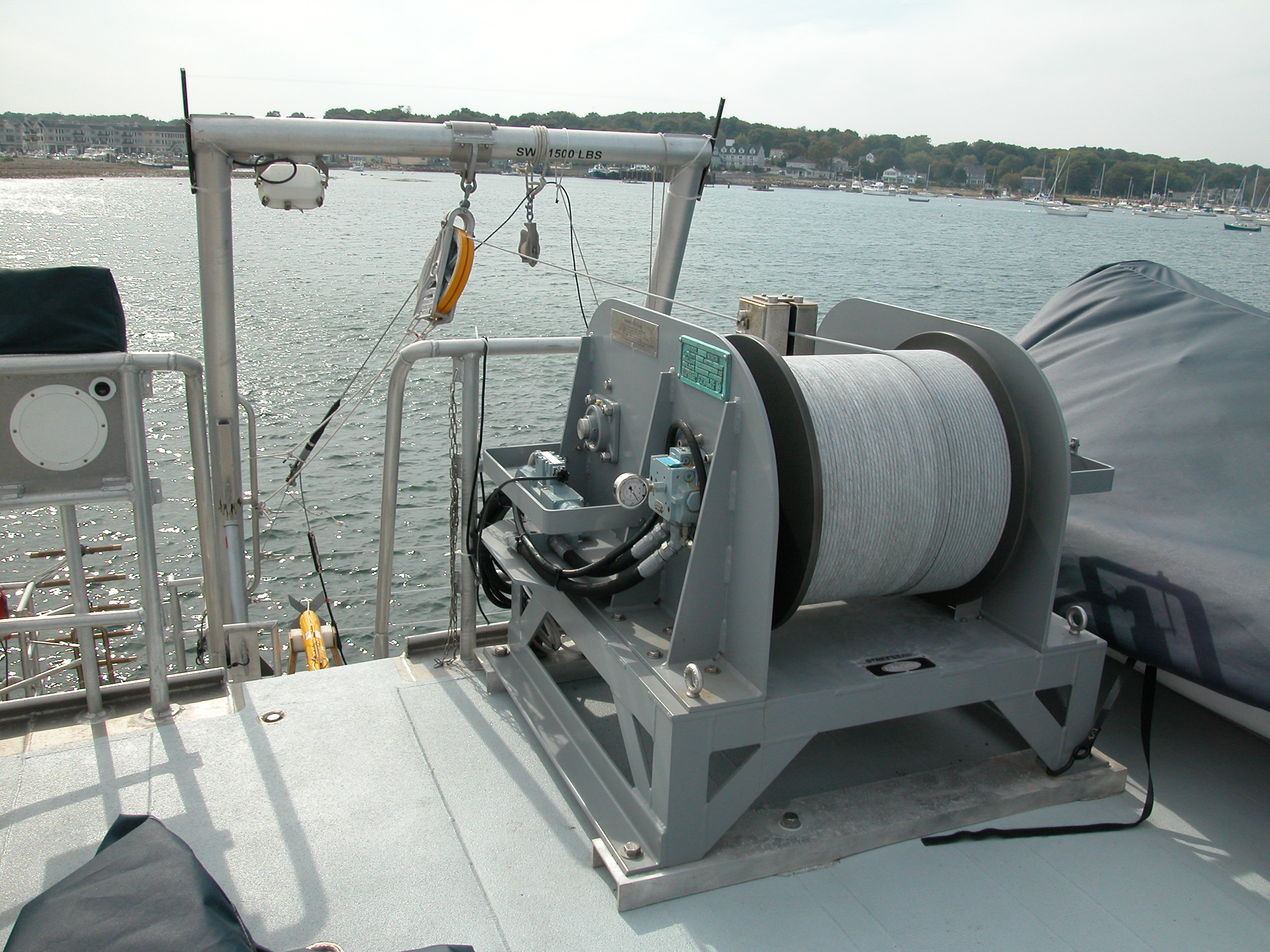 InterOcean Systems Model 1673 Winch