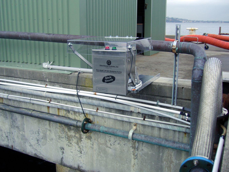 Slick Sleuth oil spill detector