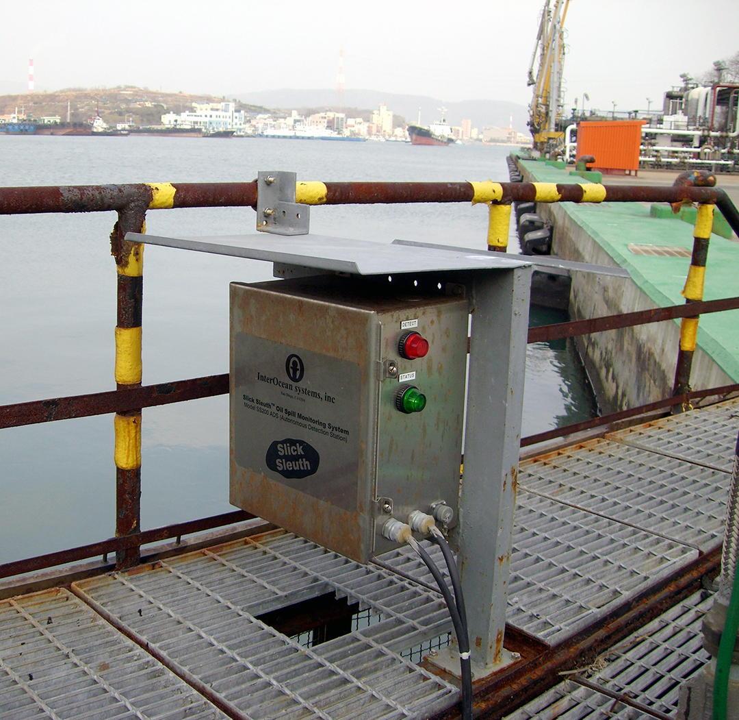 Slick Sleuth Marine Terminal Pier