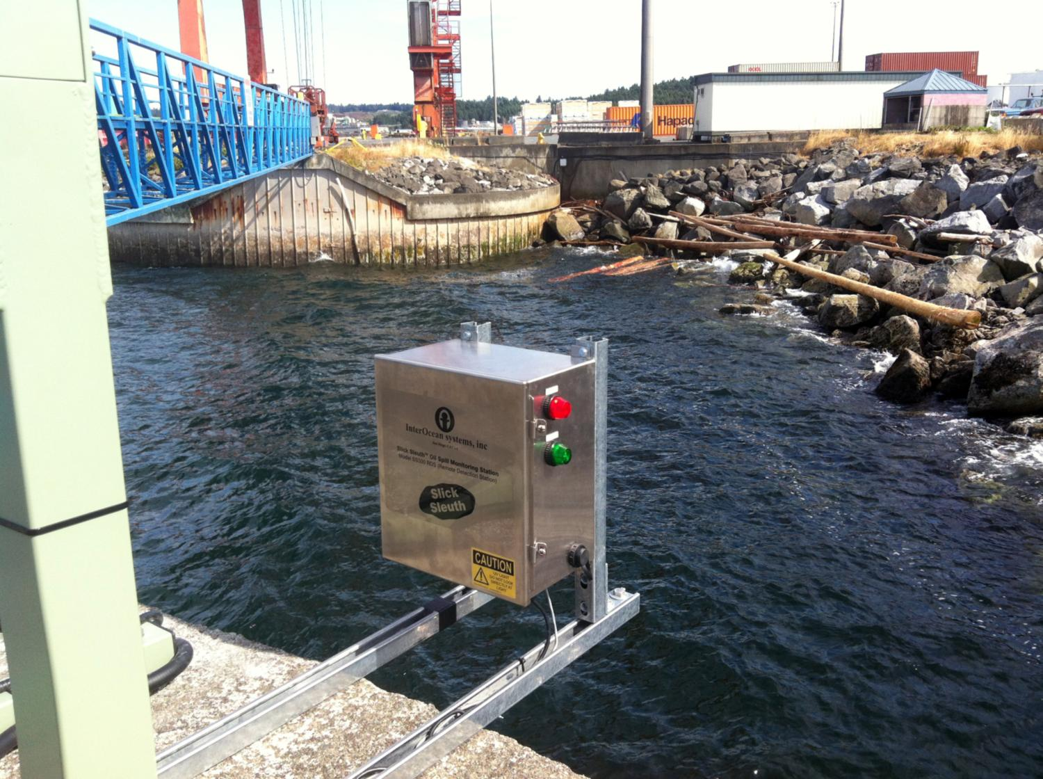 Slick Sleuth Pollution Monitoring at Port Nanaimo