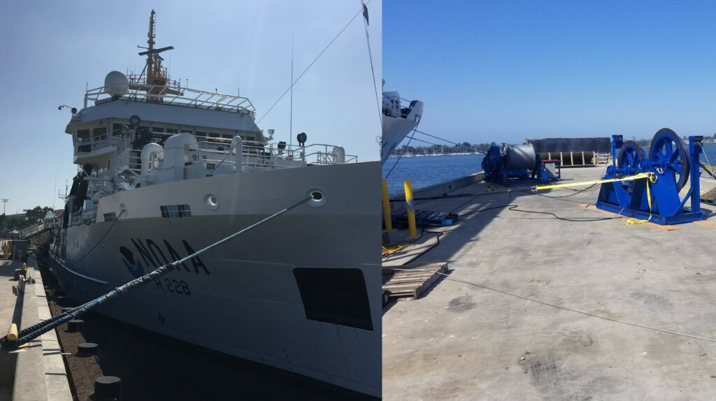 NOAA Winch Maintenance