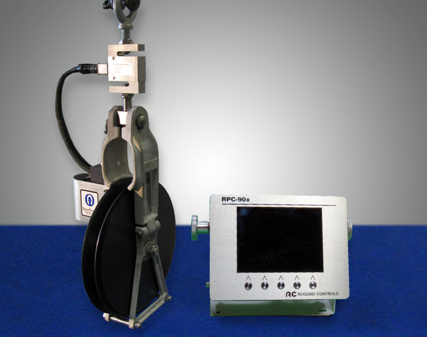 sheave with optional RPC-90x display